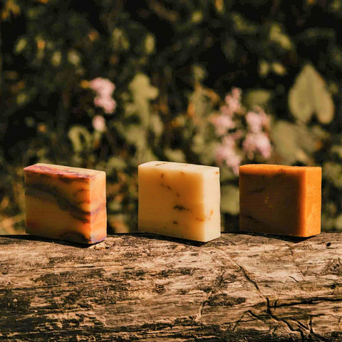 Natural Soap Bar 3-pack