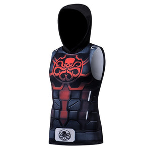 Hydra Sleeveless Compression Hoodie