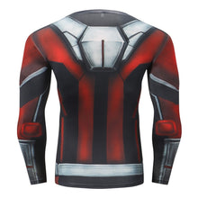 Load image into Gallery viewer, Ant Man Long Sleeve Compression Fitness Tee
