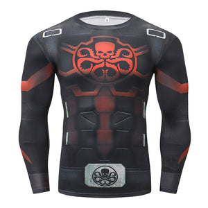 Hydra Long Sleeve Compression Fitness Tee