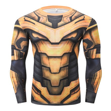 Load image into Gallery viewer, Thanos Long Sleeve Compression Fitness Tee