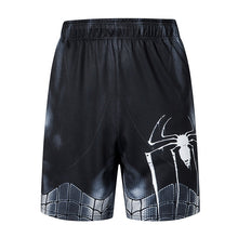 Load image into Gallery viewer, Dark Spiderman Casual Men's Gym Shorts