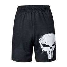 Load image into Gallery viewer, Punisher Casual Men's Gym Shorts