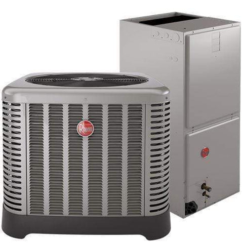 Rheem 3 Ton 16 Seer Air Conditioner & Air Handler, Air Conditioner & Air Handler - Comfort Depot Gaithersburg