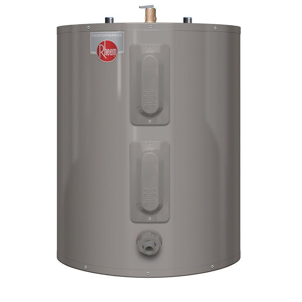 Rheem 20 Gal Short Electric 6 Yr Water Heater, Rheem Water Heater - Comfort Depot Gaithersburg