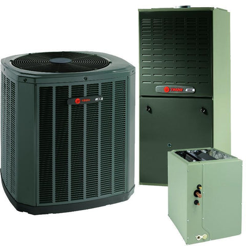 Trane 2.5 Ton XR16 A/C & XV80% Gas Furnace Installed, Trane Complete Gas System - Comfort Depot Gaithersburg