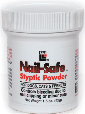 PPP Nail-Safe Styptic Powder (0.5 oz)