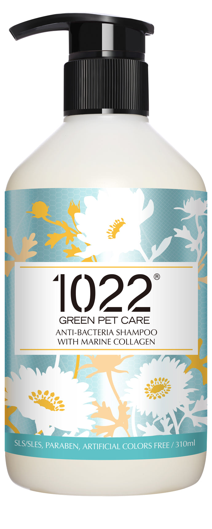 1022 Green Pet Care Anti-Bacteria Shampoo For Dogs (2 Sizes)