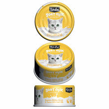 Load image into Gallery viewer, Kit Cat Goat Milk Gourmet Boneless Chicken Shreds & Cheese (70g)