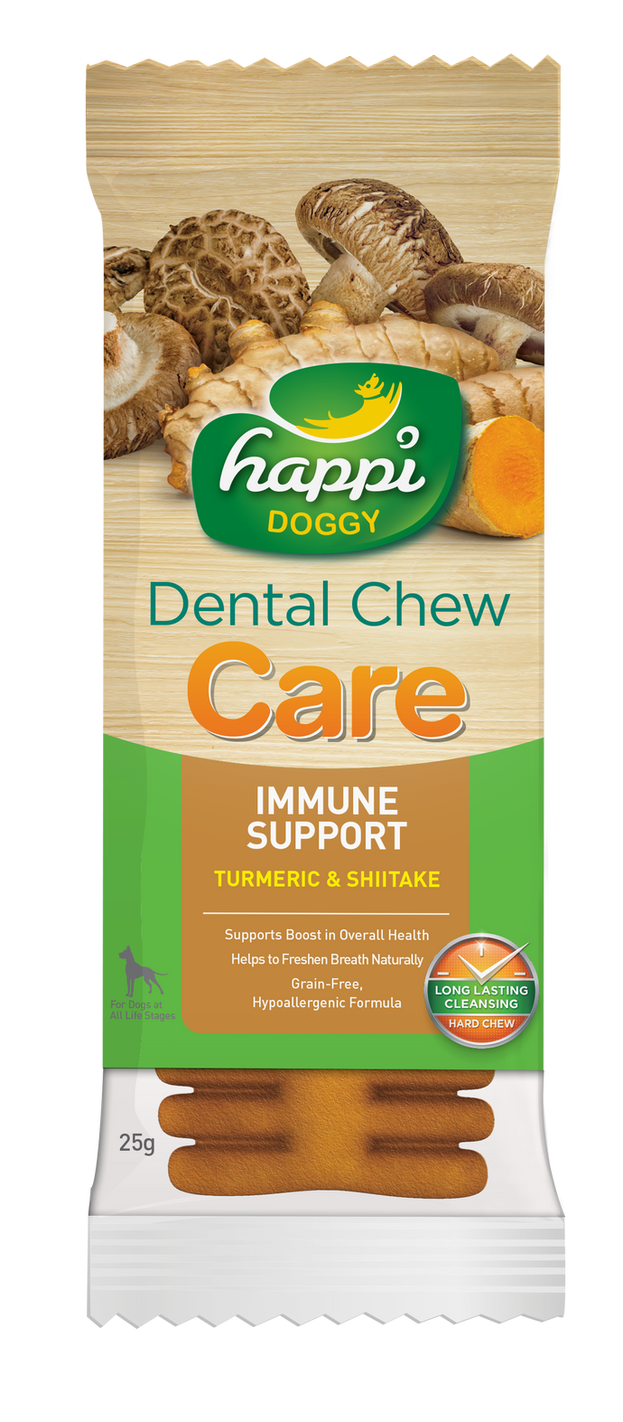 Happi Doggy Dental Chew Care (Immune Support) 4