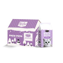 Load image into Gallery viewer, [Bundle of 2] Kit Cat Snow Peas Antibacterial Clumping Cat Litter 7L (Lavender)