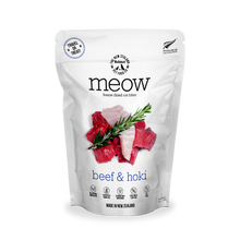 Load image into Gallery viewer, MEOW Freeze Dried Raw Beef & Hoki Cat Treats (50g)