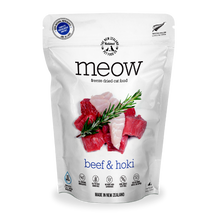 Load image into Gallery viewer, MEOW Freeze Dried Raw Beef & Hoki Cat Food (280g)