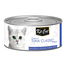 Load image into Gallery viewer, Kit Cat Deboned Tuna Classic Aspic Canned Cat Food (80g)
