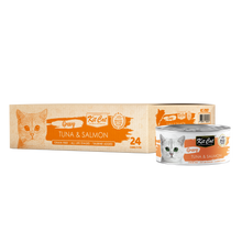 Load image into Gallery viewer, Kit Cat Gravy Tuna & Salmon Canned Cat Food (70g)