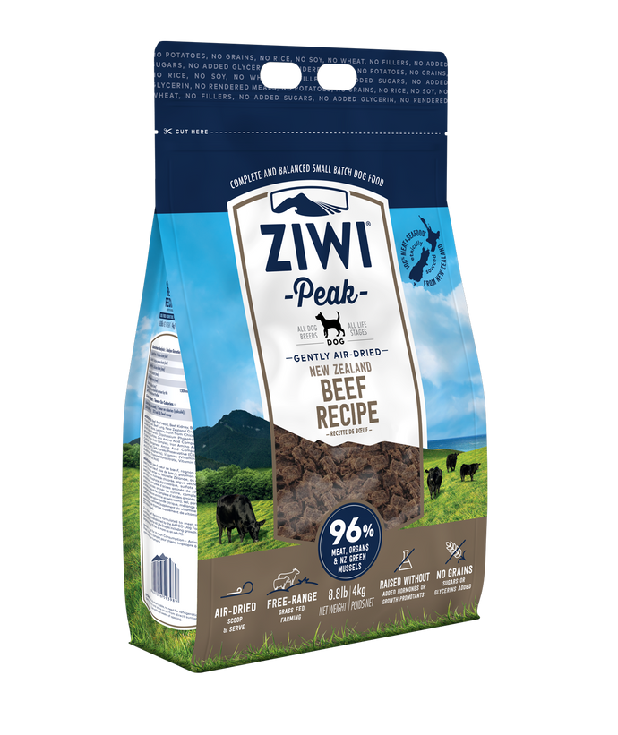 *Donation to OSCAS* Ziwi Peak Air-Dried Beef Dog Food (4KG)