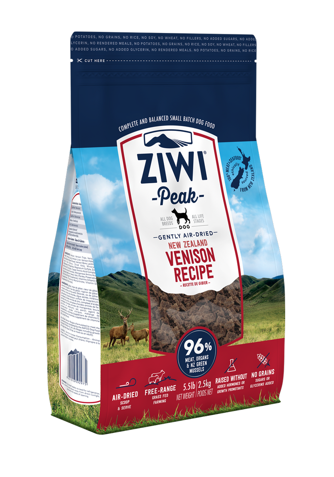 *Donation to OSCAS* Ziwi Peak Air-Dried Venison Dog Food (2.5KG)