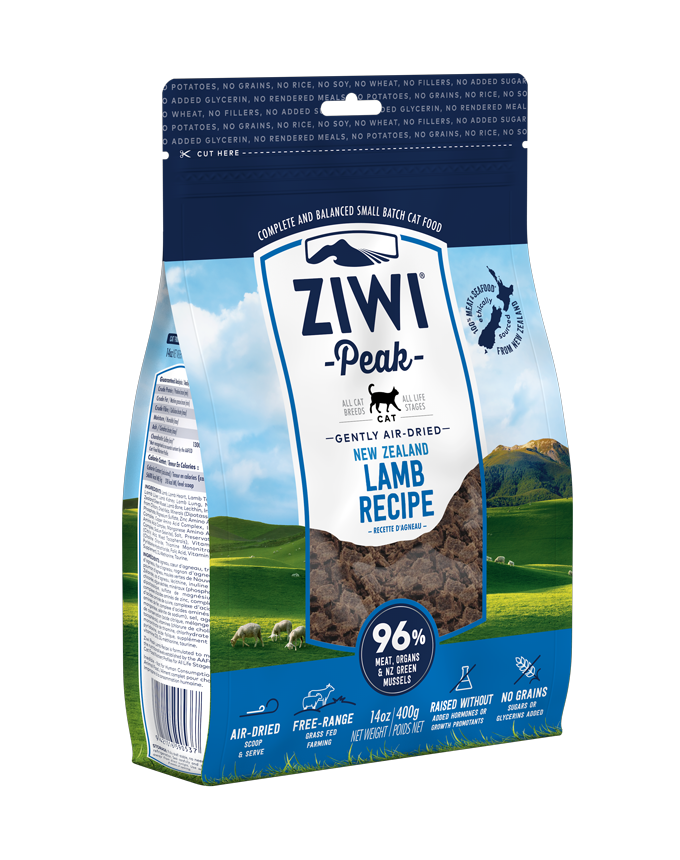 Ziwi Peak Air-Dried Lamb Cat Food (2 Sizes)