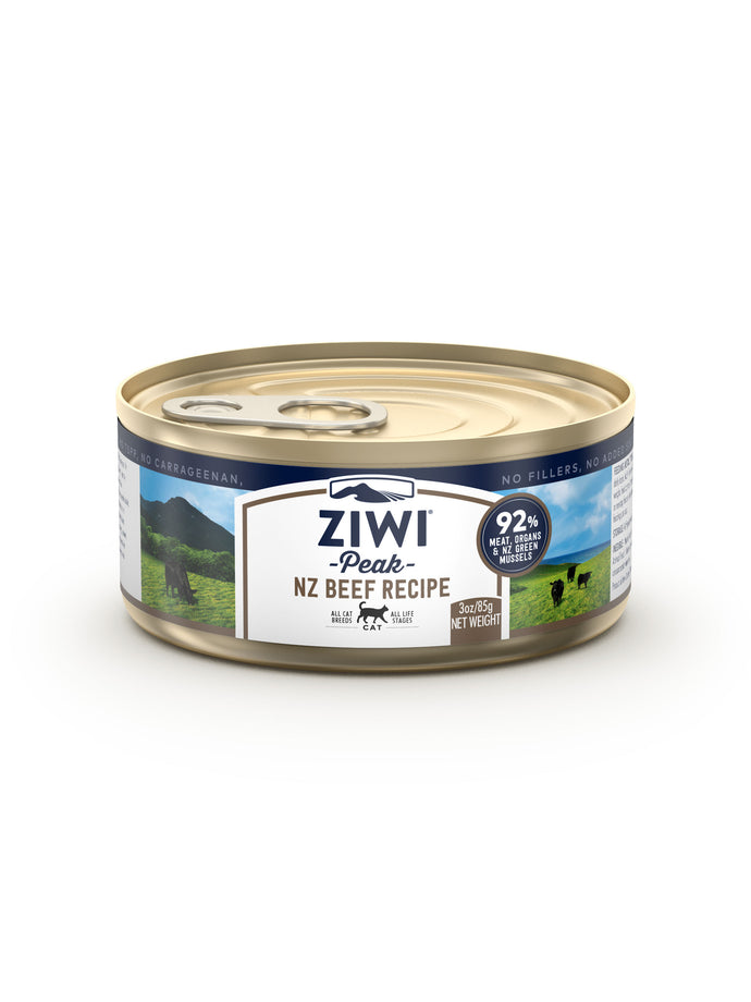 ZIWI Peak Beef Canned Cat Food (2 Sizes)