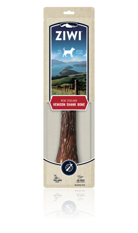 ZIWI Air-Dried Dog Treats - Venison Shank (Full)
