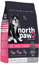 Load image into Gallery viewer, North Paw All Life Stages Cat Food (2 Sizes)