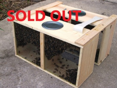 2lb Package Bees - SOLD OUT