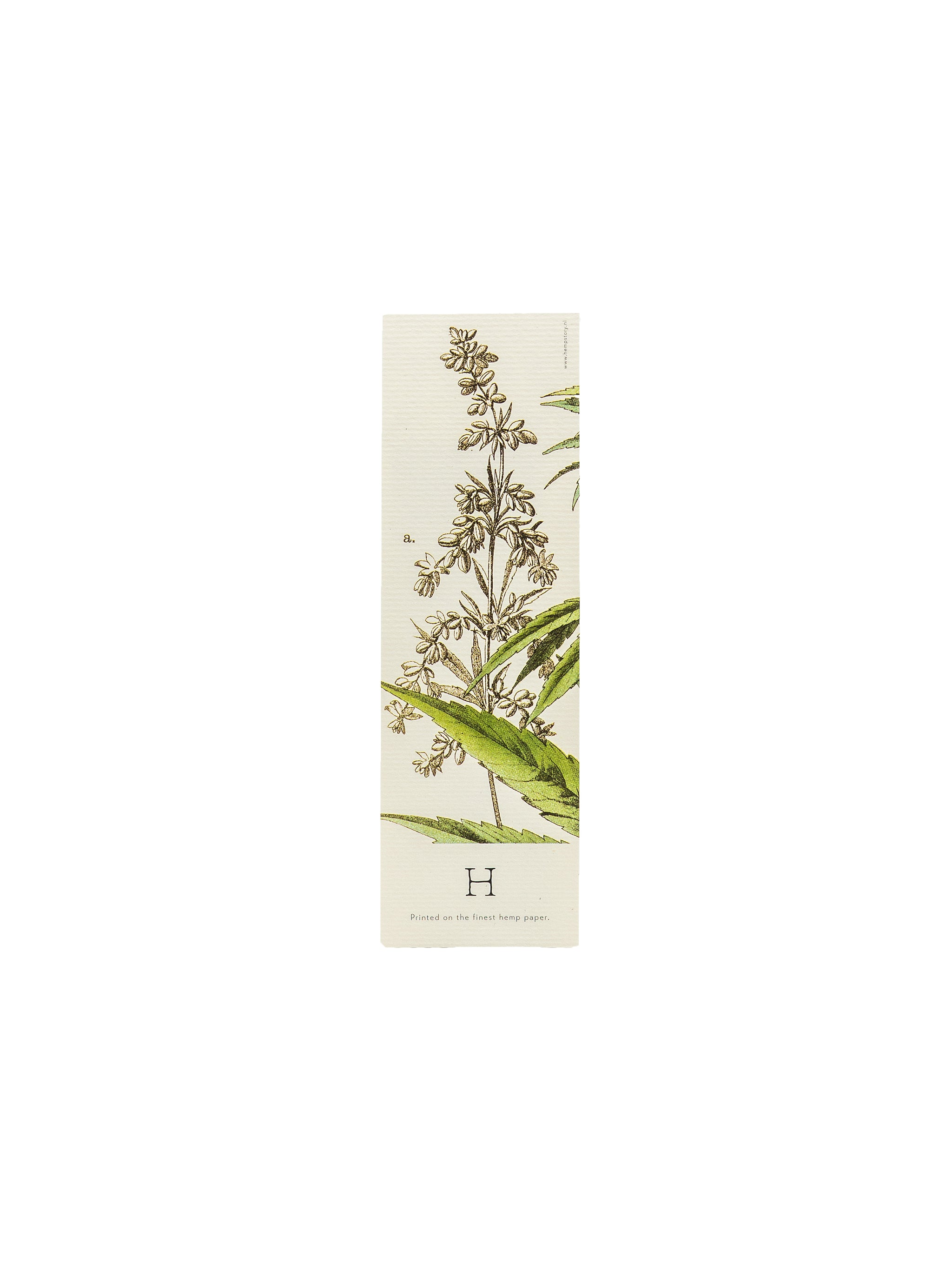 Botanical Hemp Bookmarks