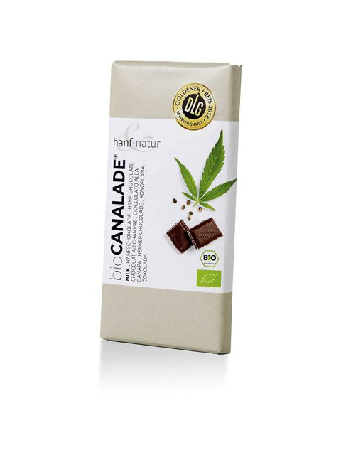 Hemp Chocolate, Milk | Hanf & Natur
