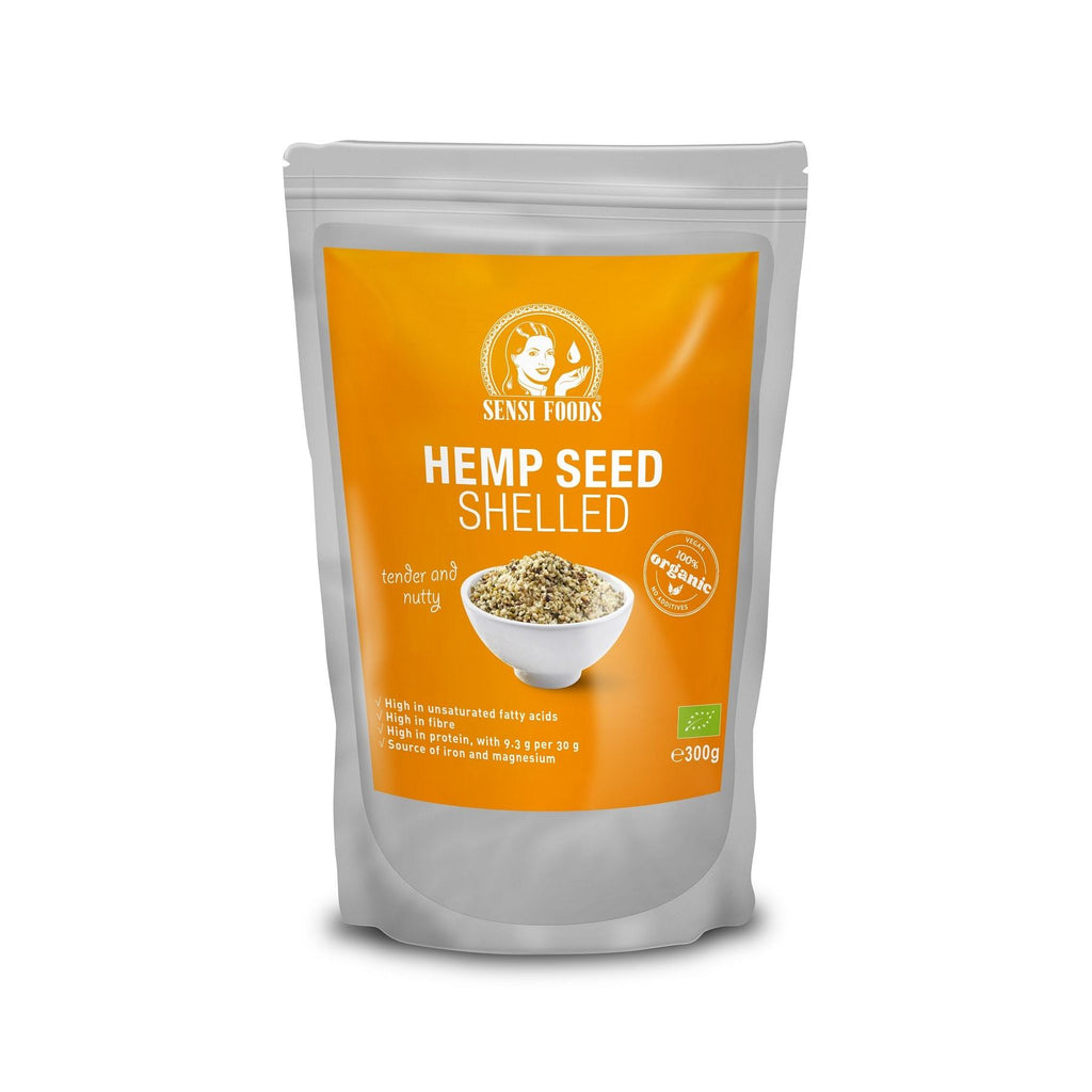 Hemp Seeds, Shelled | Sensi Seeds