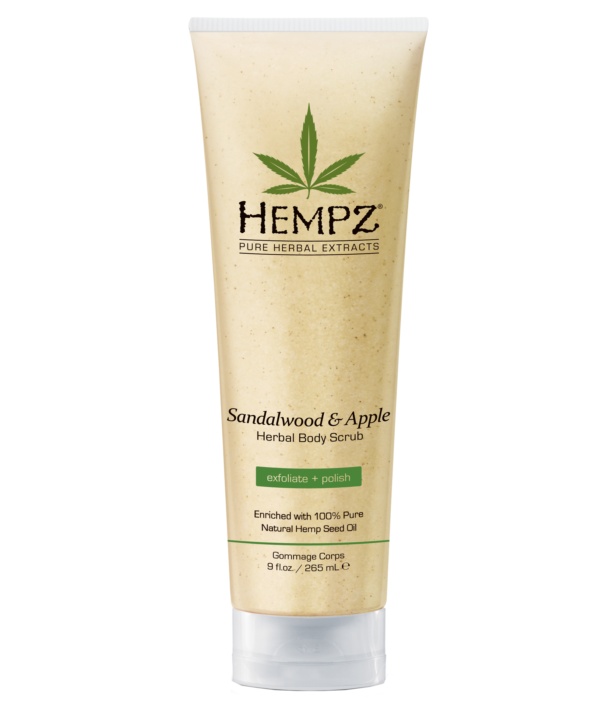 Scrub, Sandalwood & Apple | Hempz