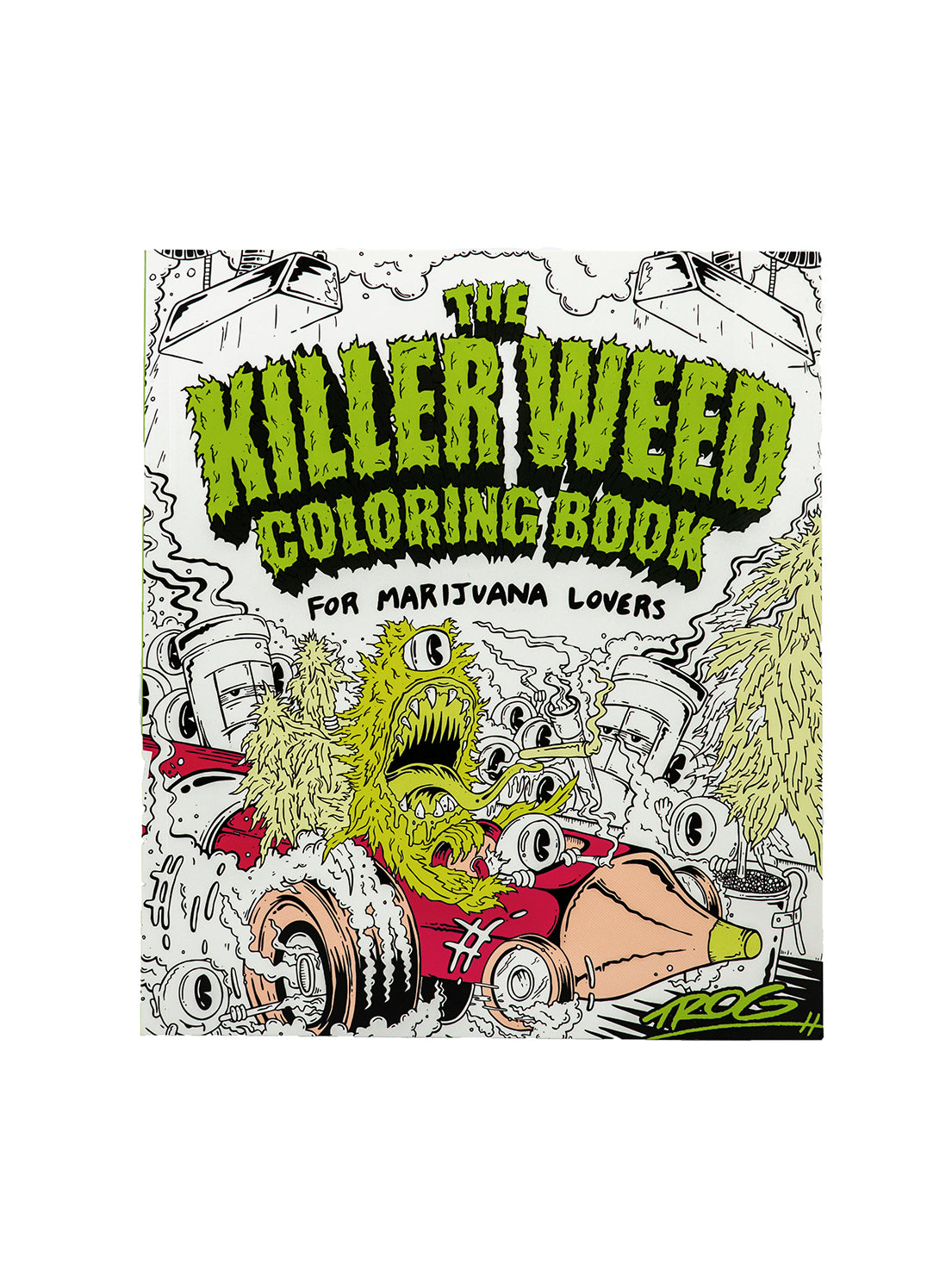 Killer Weed | Coloring Book