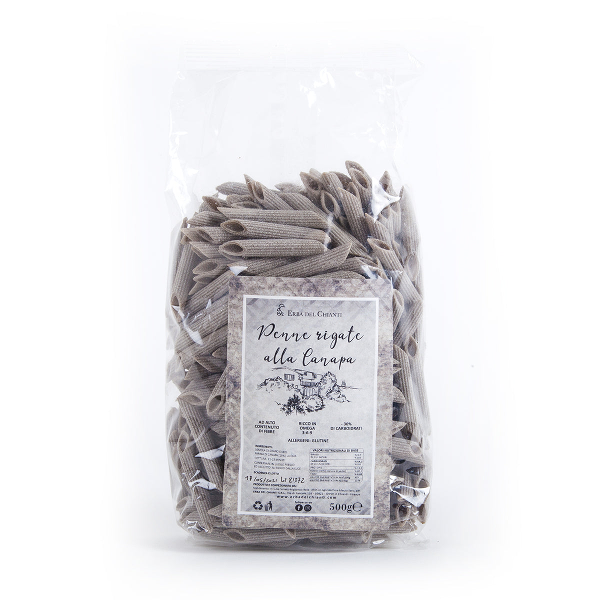 Organic Penne Rigate by Erba del Chianti | Pop-Up