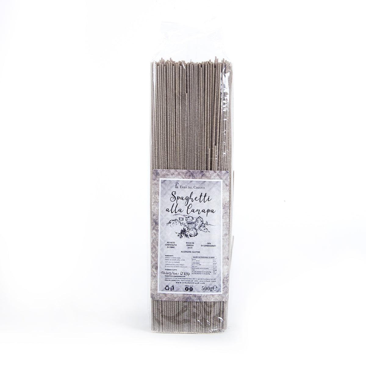 Organic Hemp Spaghetti by Erba del Chianti | Pop-Up