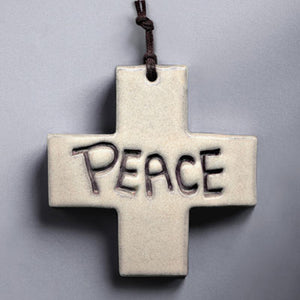 Peace Wall Cross