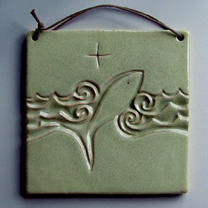 Fish-Symbol Wall Plaque