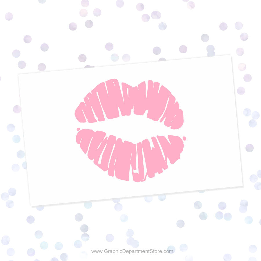 Kiss Lips Svg Cut File Clipart