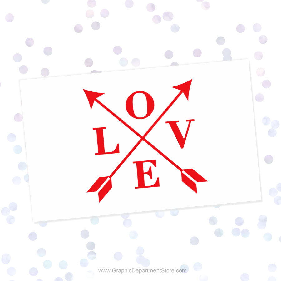 Love Arrows Svg Cut File Saying