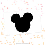 Mickey Mouse Ears Svg Cut File Clipart