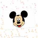 Mickey Mouse Head Svg Cut File Clipart
