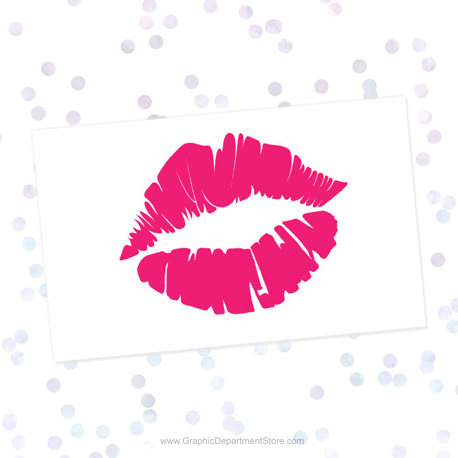 Pink Lips Svg Cut File Clipart