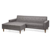 Saks 50s  Sofa and Ottoman
