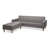 The Saks 50's  Sofa and Ottoman Set