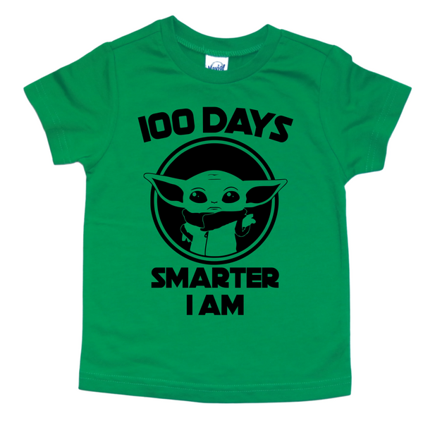 100 DAYS SMARTER I AM KIDS SHIRT