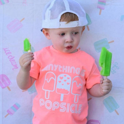 ANYTHING IS POPSICLE KIDS SHIRT