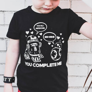 YOU COMPLETE ME KIDS SHIRT