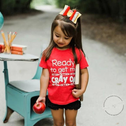 READY TO GET MY CRAY ON KIDS SHIRT