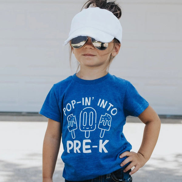POP-IN INTO PRE-K KIDS SHIRT