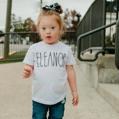 RAE DUNN INSPIRED PERSONALIZED KIDS SHIRT