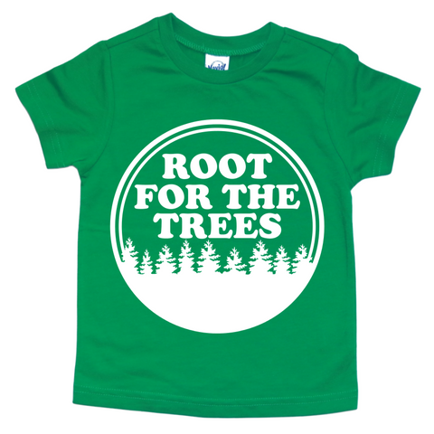 ROOT FOR THE TREES KIDS SHIRT