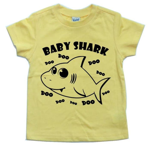 BABY SHARK DOO DOO DOO KIDS SHIRT